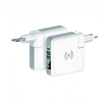 ADAPTATEUR USB SECTEUR INTERNATIONALE 4 EN 1 KSIX