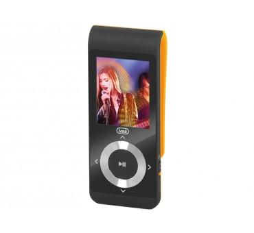 LECTEUR MP3 NOIR ORANGE MPV 1728 SD CLIP TREVI