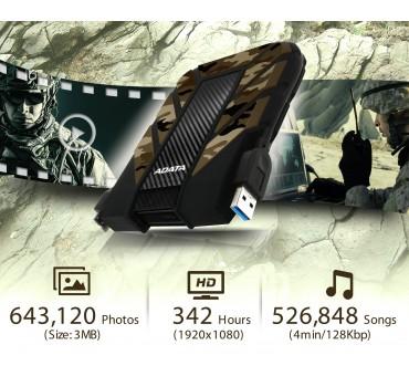 HDD USB 3.2 HD 710M PRO CAMOUFLAGE  1TE ADATA