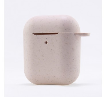 COQUE ECO FRIENDLY AIRPODS ROSE KSIX