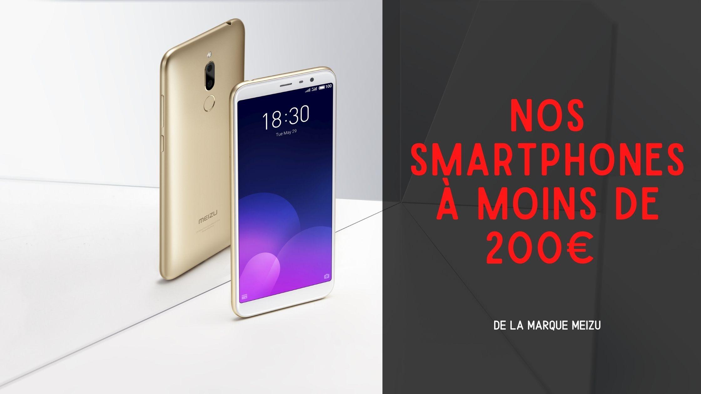 smartphone meizu à moins de 200€